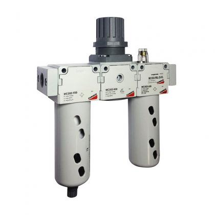 Блок подготовки воздуха комбинация MC202-FRL-5-FL Camozzi