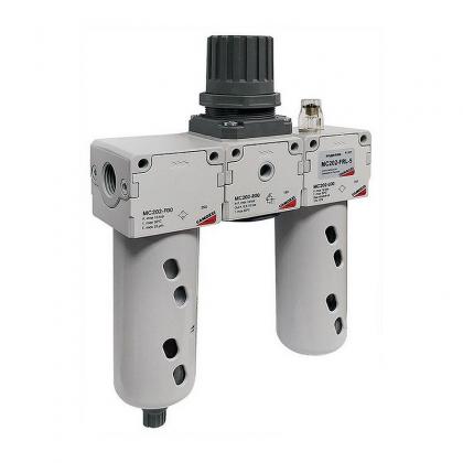 Блок подготовки воздуха комбинация MC202-FRL-25 Camozzi