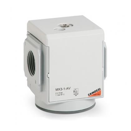 Клапан мягкого пуска MX2-1/2-AV Camozzi